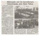 Alteração em lei beneficiará Associação dos Sem Tetos. Jornal Expressão Regional, Conselheiro Lafaiete ,12 mai. 2018 a 18 mai. 2018, 530ª ed., p. 5.