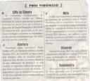 CPIs da Câmara. Jornal Correio da Cidade, 24 a 30 abril 2021, 1576ª ed., Caderno Opinião, Frei Tibúrcio, p. 8.