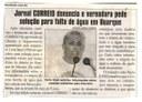 Jornal Correio denuncia e vereadora pede solução para falta de água em Buarque. Jornal Correio da Cidade, Conselheiro Lafaiete, 17 mar. 2018 a 23 mar. 2018, 1413ª ed., Caderno Política , p. 6.