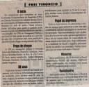 O início / tropa de choque. Jornal Correio da Cidade, 22 a 28 maio 2021, 1577ª ed., Caderno Opinião, Frei Tibúrcio, p.08.