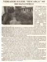 "Vereador sugere ""descarga"" no rio Bananeiras. Jornal Nova Gazeta, Conselheiro Lafaiete, 23 set. 2017 a 29 set. 2017, 927ª ed., Ano XXXI, Caderno Gerais, p 3."